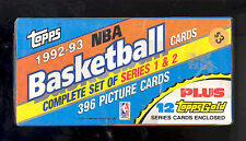 1992-93 TOPPS FACTORY SEALED BASKETBALL SET JORDAN SHAQ ROOKIE RC +12 GOLD CARDS
