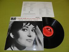 Maria Callas Sings Verdi Arias / Rescigno / 1964 UK SAX 2550 1st Press 21C/21C