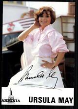 Ursula May Autogrammkarte Original Signiert## BC 23812