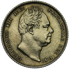 More details for 1834 sixpence (gilded) - william iv british silver coin