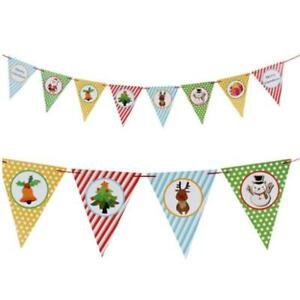 Gloves Party Pennant Bunting Snowflake Lovely Atmosphere Party Stripe Banners T