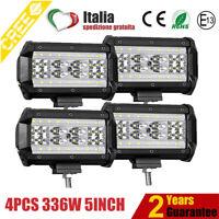 4X336W LED LUCE FARO 12V 24V LAMPADA DA LAVORO FARETTO AUTO BARCA CAMION KLW SUV