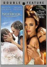THE NOTEBOOK/THE TIME TRAVELER'S WIFE 2012 DVD w/Rachel McAdams >NEW<