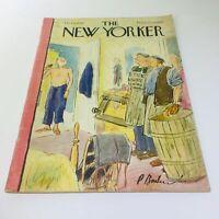 The New Yorker: Oct 1 1949 - Full Magazine / Theme Cover Charlotte Grill & John
