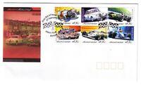 "2002 FDC Australia. Motor Racing. PictPMK ""ALBERT PARK"""