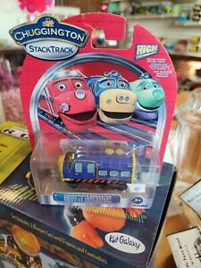 NEW! Chuggineer Brewster Magnetic Chuggington Wooden Train Brio Thomas Track Set