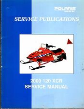 2000  POLARIS 120 XCR SNOWMOBILE  SERVICE MANUAL P/N 9915983  (691)