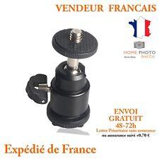 Mini Rotule support pour appareil photo reflex Sabot pour grif flash