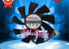 85mm Sapphire XFX Video Card Single Fan 39mm 4Pin FD9015U12S 0.55A #M737 QL