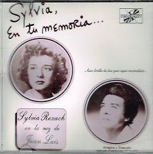Sylvia en Tu Memoria Sylvia Rexach en la voz de Juan Luis  BRAND  NEW SEALED  CD