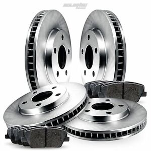 Full Kit Replacement Brake Rotors Disc and Ceramic Pads For Conquest,Starion