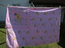 Rar Vitage 2 tlg Bambi rosa Disney Kinder Bettwäsche bed linen