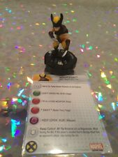 Heroclix - Wolverine TabApp #M-004 with Card - Marvel Super Heroes X-Men