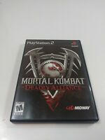 PS2 Mortal Kombat Deadly Alliance Sony PlayStation 2 Pre Owned Tested Working