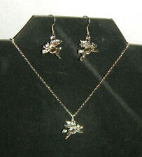 NEW 'When Pigs Fly'  Necklace and Earrings Set