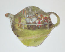 Breakfast Under The Birch Tea Bag Holder Ashdene New Melamine Teapot Shape