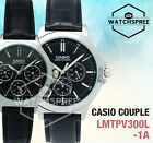 Casio Couple Watch LTPV300L-1A MTPV300L-1A
