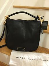 NWT MARC BY MARC JACOBS Too Hot To Handle Hobo Crossbody Shoulder Handbag BLACK