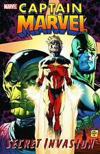Marvel Comics Secret Invasion: Captain Marvel Hardcover graphic novel , guardian