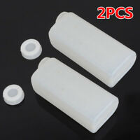 2 Pcs Fuel Mix Bottle Container For 2 Stroke Oil Chainsaw Trimmer Nylon Plastic