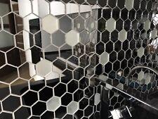 Зеркальная шестигранная мозайка в форме сот