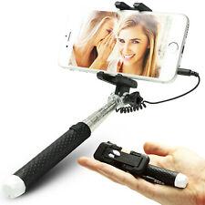 Mini Selfie Stick Stange Stativ Monopod Teleskop Selfiestick Smartphone Handy
