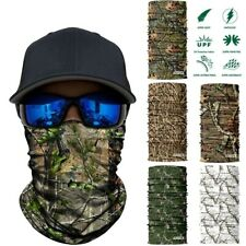 Camo Neck Gaiter Tube Military Cycling Hunting Airsoft Fishing Tactical