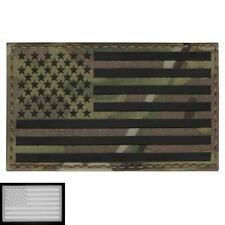 Big 3x5 USA American Flag Infrared IR Multicam IFF Morale Laser Hook&loop Patch