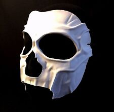 DEATH MASK Day of the Dead LEATHER VooDoo Witch Doctor Mask Skeleton Halloween
