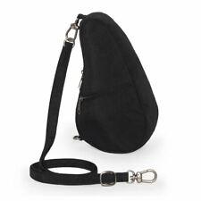 Healthy Back Bag Textured Nylon Baglett Shoulder Small Womens / Ladies Handbag