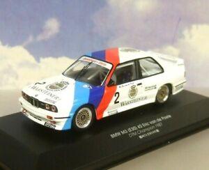 CMR 1/43 WARSTEINER BMW M3 (E30) #2 ERIC VAN DE POELE DTM CHAMPION 1987 43028