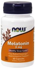 NOW Foods Melatonin 3 mg - 60 Capsules