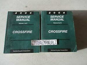 2004 Chrysler Crossfire Service Manual Manuals
