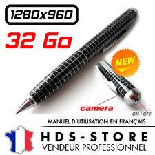 STYLO CAMERA ESPION DESIGN MDPENCAMHD1S 960P + MICRO SD 32 GO VIDÉO 1280X960