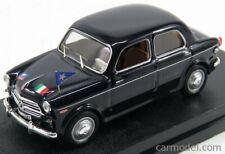 Rio-models 4544 scala 1/43 fiat 1100/103 e carabinieri serv.ufficiali 1953 black