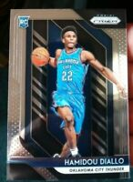 2018-19 Panini Prizm Basketball Hamidou Diallo Base Rookie Card RC OKC Thunder