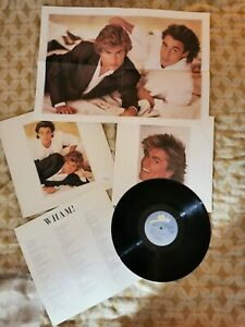 """WHAM MAKE IT BIG 12"""" EPC86311 INCLUDES LYRIC SHEET AND POSTER"""