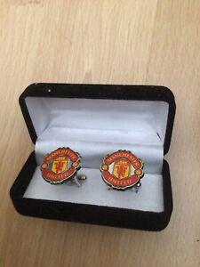 New In Box Manchester United Cufflinks
