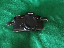 vintage Konica Auto Reflex T 35mm Film Camera