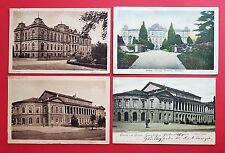 4 x AK GOTHA 1900/18/30 Museum und Theater     ( 21039