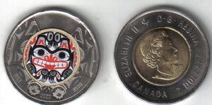 Canadian 2020 Toonie Grizzly Bear Haida artist Bill Reid two dollar coin $2