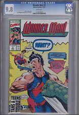 Wonder Man #3 Cgc 9.8 1991 Marvel Comic