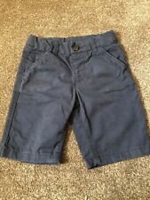 BOYS 4-5 YEARS NAVY BLUE CHINO SHORTS MOTHERCARE S/NF