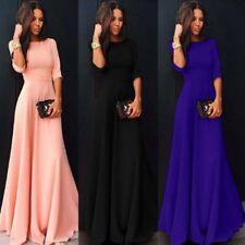 Nylon Long Sleeve Casual Maxi Dresses For Women Ebay