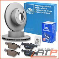 ATE BRAKE DISC + CERAMIC PADS REAR VENTED Ø300 MERCEDES E-CLASS W211 S211