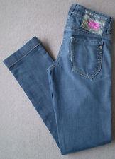 Women's River Island Straight Leg Jeans Size 6R (Eur 32R) W24 L31 Blue Stretch