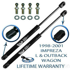 Two New Rear Hatch Lift Supports Arm Rod Trunk Liftgate For 98-01 Impreza Wagon