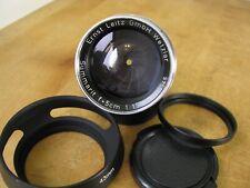 Leica 50mm Summarit f/1.5 Lens in Leica Screw Mount M39 L39 LTM EXC++