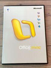 Microsoft Office Mac 2004 - Vollversion mit Lizenz
