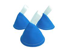 Blue Pee Pee Tipi X 3 // Wee detener conos Teepees // Niño Bebé Ducha Regalo